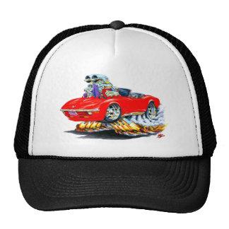 1968-72 Corvette Red Convertible Cap