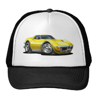 1968-72 Corvette Yellow Car Cap