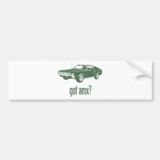 1968 AMC AMX BUMPER STICKERS