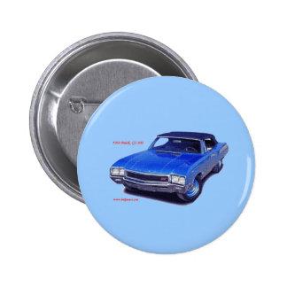 1968 Buick GS 400 6 Cm Round Badge