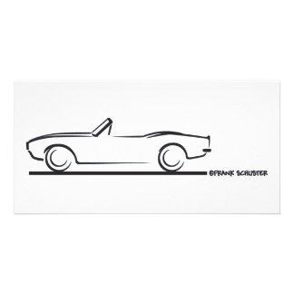 1968 Camaro Convertible BLK Custom Photo Card