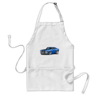 1968 Chevelle Blue-Black Car Standard Apron