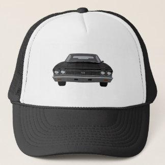 1968 Chevelle SS: Black Finish Trucker Hat