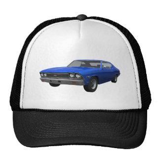 1968 Chevelle SS: Blue Finish Cap