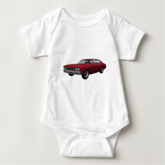 1968 Chevelle SS: Candy Apple Finish Baby Bodysuit