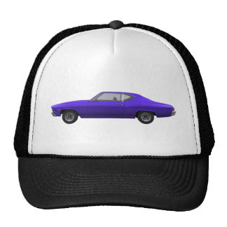 1968 Chevelle SS: Purple Finish Cap