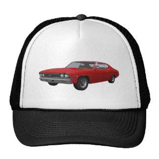 1968 Chevelle SS: Red Finish Cap
