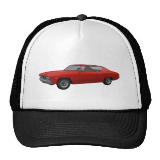 1968 Chevelle SS: Red Finish Hat