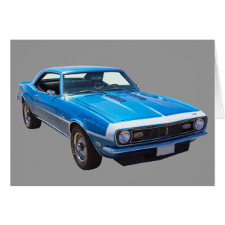 1968 Chevrolet Camaro 327 Muscle Car Cards