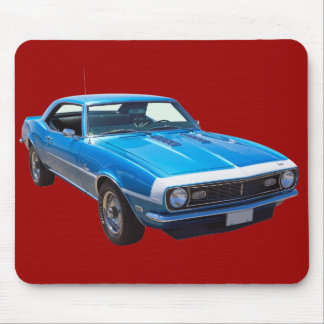 1968 Chevrolet Camaro 327 Muscle Car Mouse Pads