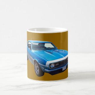 1968 Chevrolet Camaro 327 Muscle Car Mugs