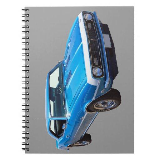 1968 Chevrolet Camaro 327 Muscle Car Spiral Notebook