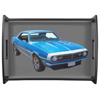 1968 Chevrolet Camaro 327 Muscle Car Service Trays