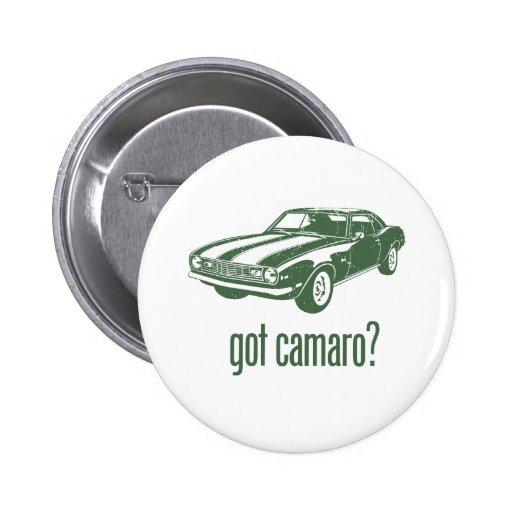 1968 Chevrolet Camaro Z28 6 Cm Round Badge