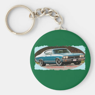 1968_Chevrolet_Chevelle_SS Key Chains