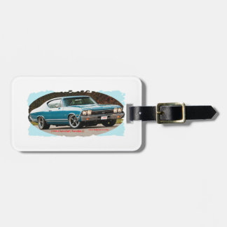 1968_Chevrolet_Chevelle_SS Luggage Tags