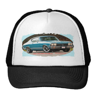 1968_Chevrolet_Chevelle_SS Mesh Hats