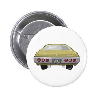 1968 Chevrolet Impala 6 Cm Round Badge