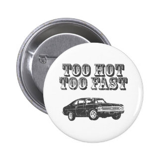 1968 Chevrolet Nova SS 396 6 Cm Round Badge