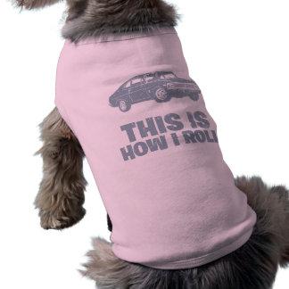1968 Chevrolet Nova SS 396 Sleeveless Dog Shirt