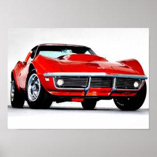 1968 Corvette L-88 Poster