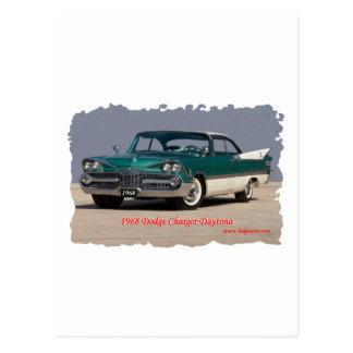 1968 Dodge Charger Daytona Post Card
