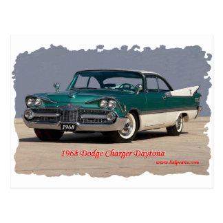 1968 Dodge Charger Daytona Post Cards