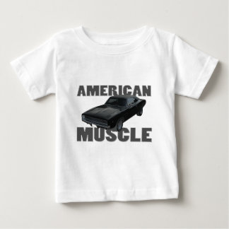 1968 dodge charger r/t american muscle baby T-Shirt