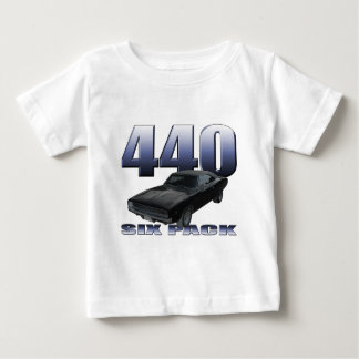 1968 dodge charger rt 440 six pack infant T-Shirt