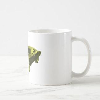 1968 dodge charger yellow coffee mug