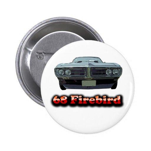 1968 Firebird Button