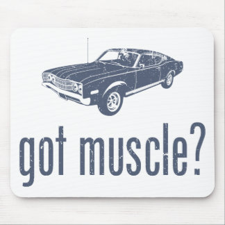 1968 Ford Mercury Cyclone 428 Cobra Jet Mouse Pad