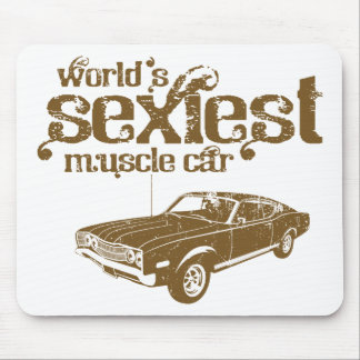 1968 Ford Mercury Cyclone 428 Cobra Jet Mouse Pads