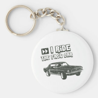 1968 Ford Mustang Coupe Key Chains