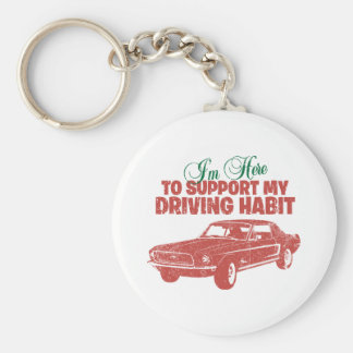 1968 Ford Mustang Coupe Key Chain