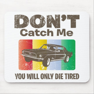 1968 Ford Mustang Coupe Mouse Pad