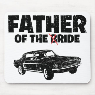 1968 Ford Mustang Coupe Mousepads