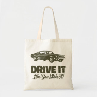 1968 Ford Mustang Fastback Tote Bag