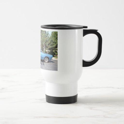 1968 Plymouth GTX travel mug