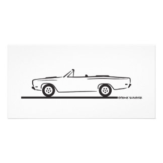1968 Plymouth Roadrunner Convertible Photo Cards