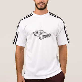 1968 Plymouth Roadrunner Muscle Car Illustration Tshirts