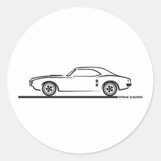 1968 Pontiac Firebird Stickers