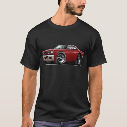 1968 Roadrunner Maroon Car T-Shirt