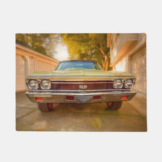1968 VINTAGE MUSCLE CAR DOORMAT