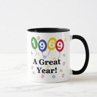 1969 A Great Year Birthday Mug