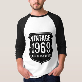 1969 aged to perfection | Dark grey vintage shirt