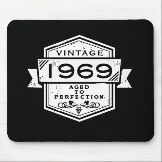 1969 Aged To Perfection Mouse Pad