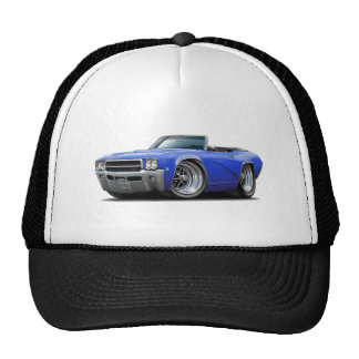 1969 Buick GS Blue Convertible Cap