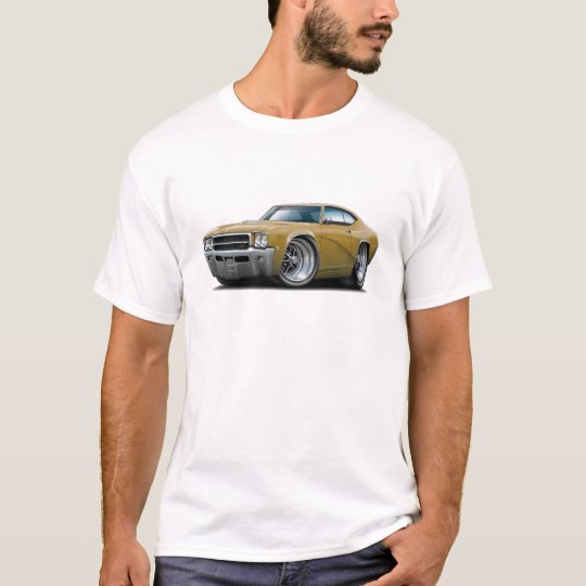 1969 Buick GS Gold Car T-Shirt