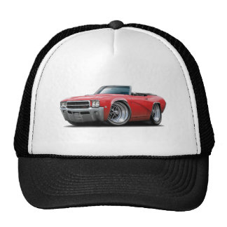 1969 Buick GS Red Convertible Cap